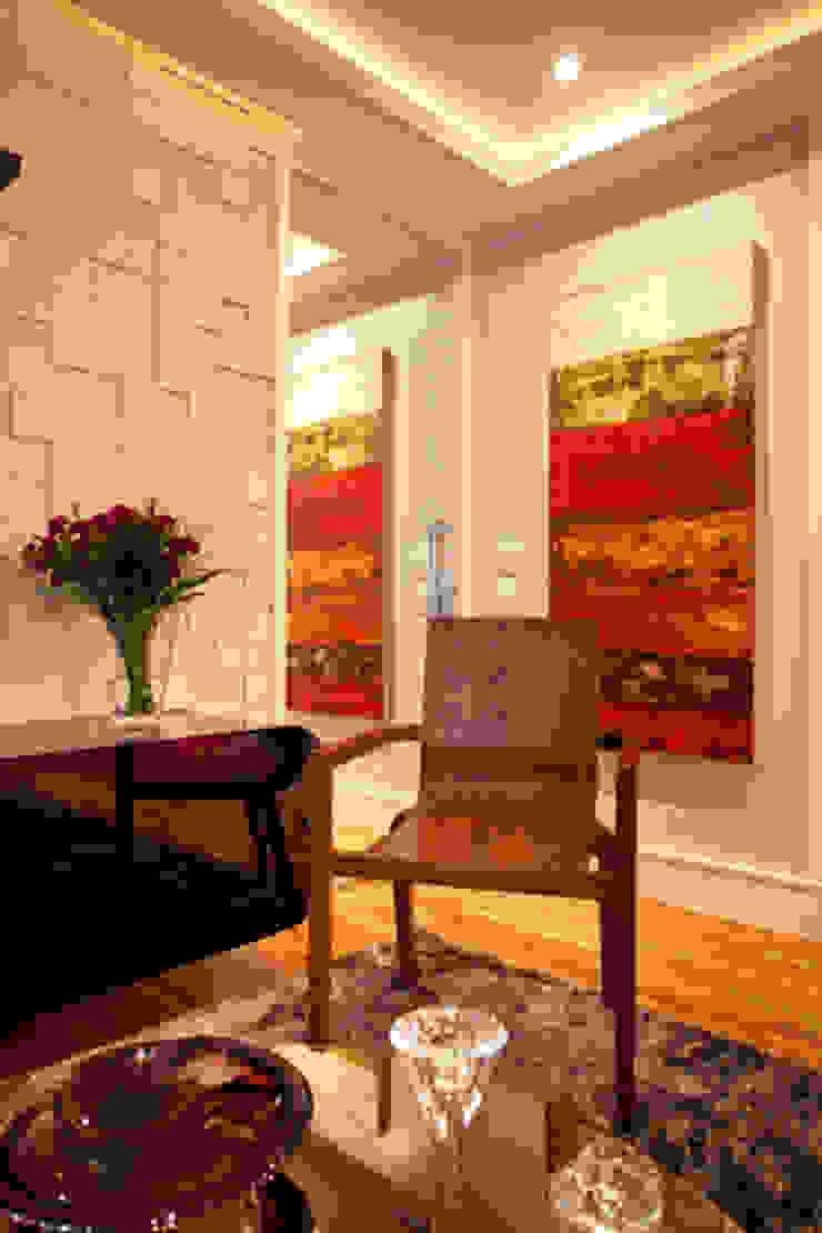 Apartamento Butantã Corredores, halls e escadas modernos por Samy & Ricky Arquitetura Moderno