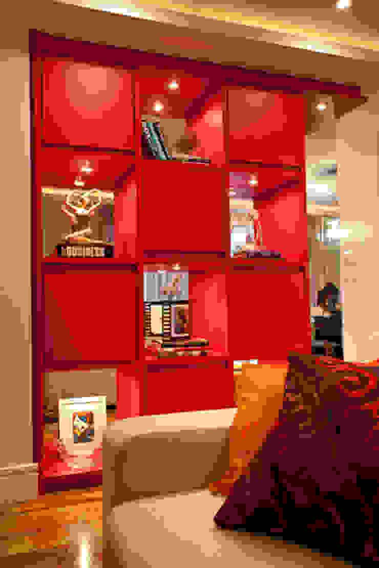 Apartamento Butantã Paredes e pisos modernos por Samy & Ricky Arquitetura Moderno