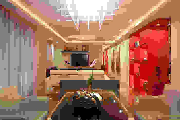 Apartamento Butantã Salas de estar modernas por Samy & Ricky Arquitetura Moderno
