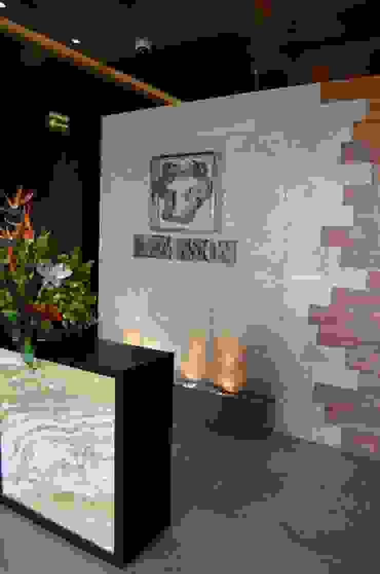 Restaurant La Mansión Gastronomía de estilo moderno de Arquitectos Interiores Moderno