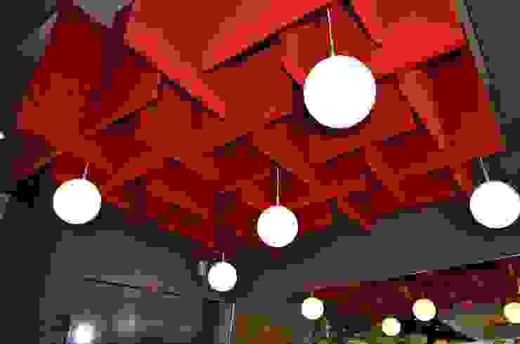 Restaurant La Mansión Bares y clubs de estilo moderno de Arquitectos Interiores Moderno