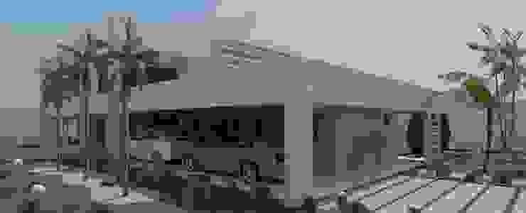 Risque Projetos: Casa Moderna - Detalhes Casas modernas por RISQUE PROJETOS E ARQUITETURA Moderno