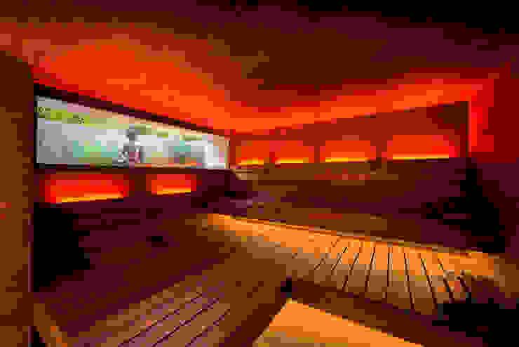 od corso sauna manufaktur gmbh Nowoczesny Drewno O efekcie drewna