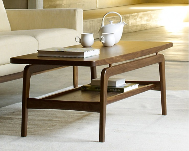 ​Skagen Coffee & Nesting Tables de Design Within Reach Mexico Moderno Madera Acabado en madera