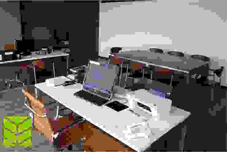 Oficinas City Angelopolis de Beta Factoria de Puebla SA de CV Moderno