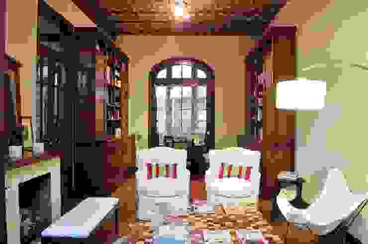 Living Salones de estilo ecléctico de Radrizzani Rioja Arquitectos Ecléctico Madera Acabado en madera