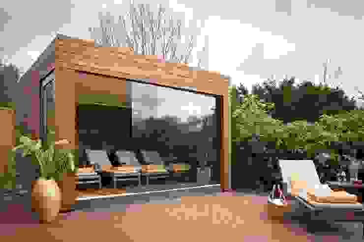 Außensauna Modern spa by corso sauna manufaktur gmbh Modern Wood Wood effect