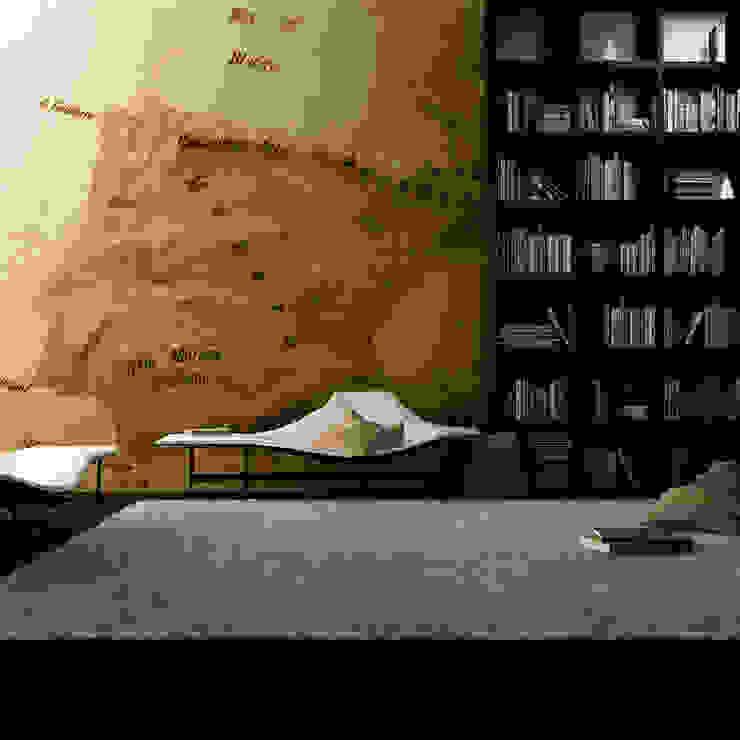 Papel de Parede escritório por CreativeArq Moderno