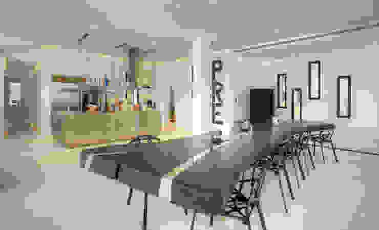 Salle à manger moderne par homify Moderne