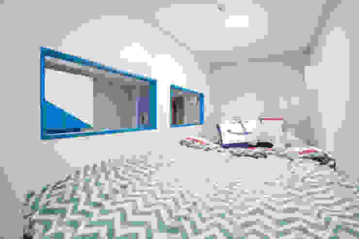시원한 블루가 포인트 되어주는 인테리어 모던스타일 아이방 by 퍼스트애비뉴 모던
