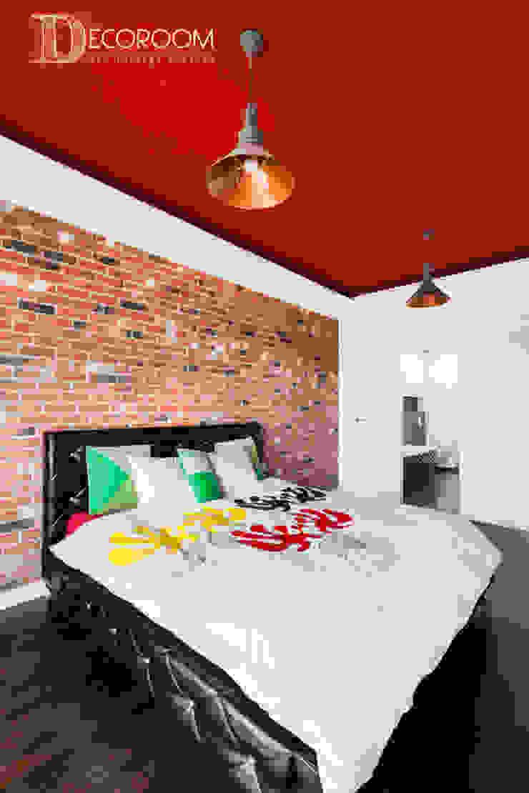 męskie mieszkanie Nowoczesna sypialnia od Decoroom Nowoczesny