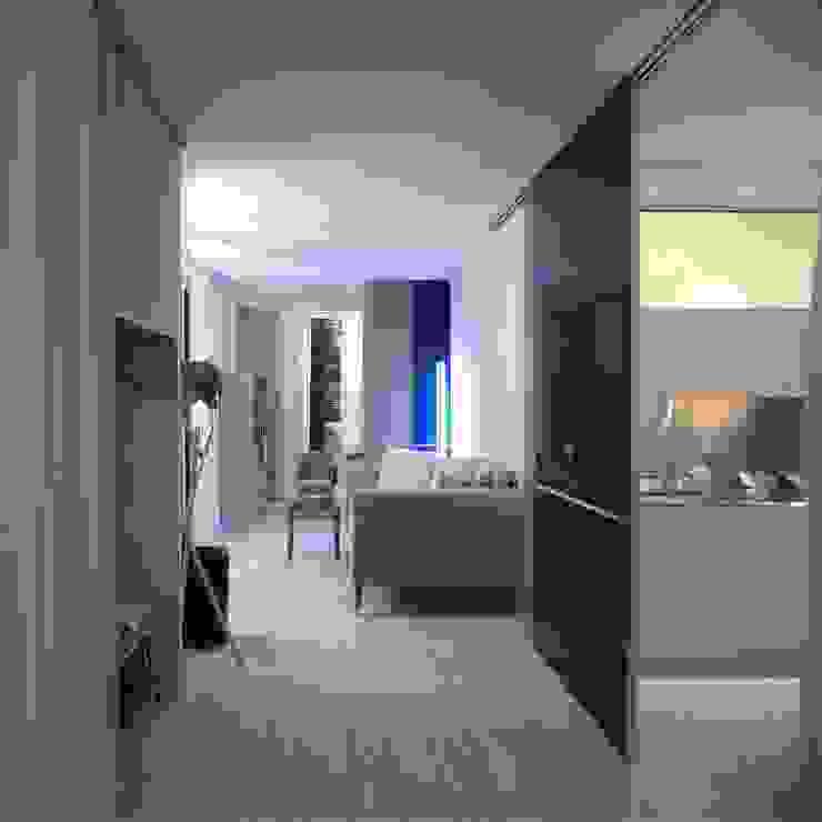 地中海スタイル 玄関&廊下&階段 の Benedini & Partners 地中海