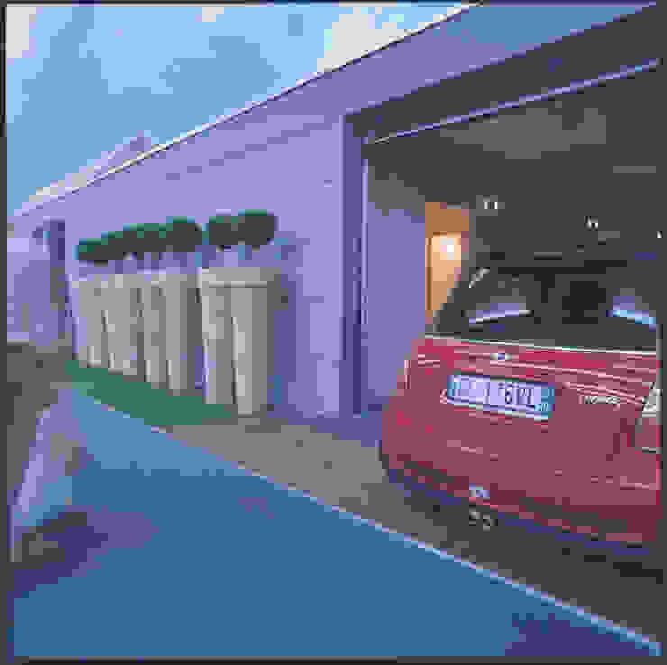 Garajes modernos de Benedini & Partners Moderno