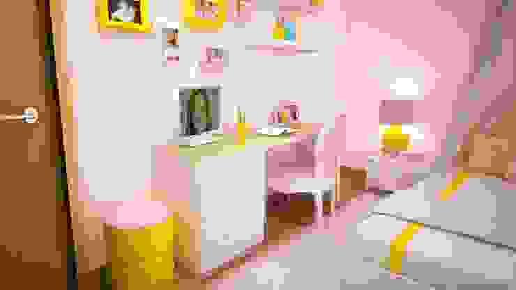 Quarto da Vitória Quartos de criança modernos por Ângela Pinheiro Home Design Moderno MDF