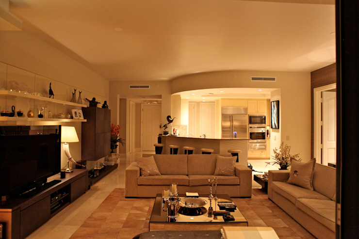 Kerim Çarmıklı İç Mimarlık – One Bal Harbour Miami Evi: modern tarz , Modern