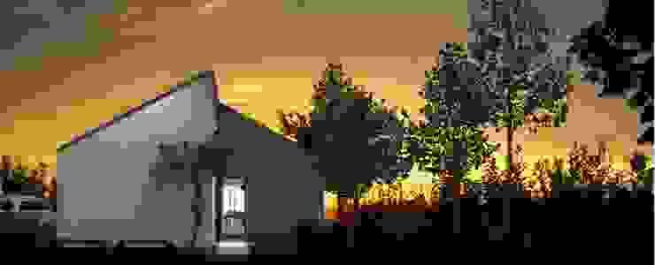 Casa prefabbricata BH3 Case moderne di Benedini & Partners Moderno