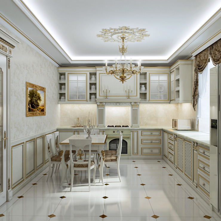 homify Kitchen White