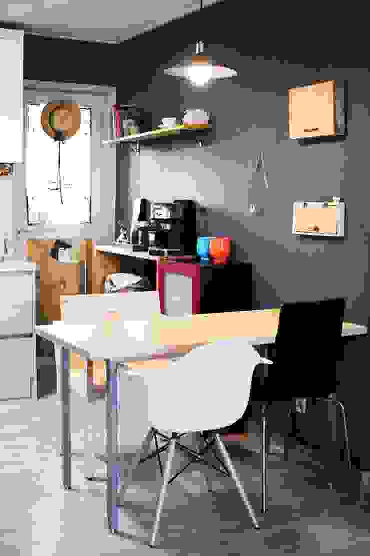 전셋집 4년 셀프인테리어 self interior 인더스트리얼 다이닝 룸 by 13월의 블루 인더스트리얼