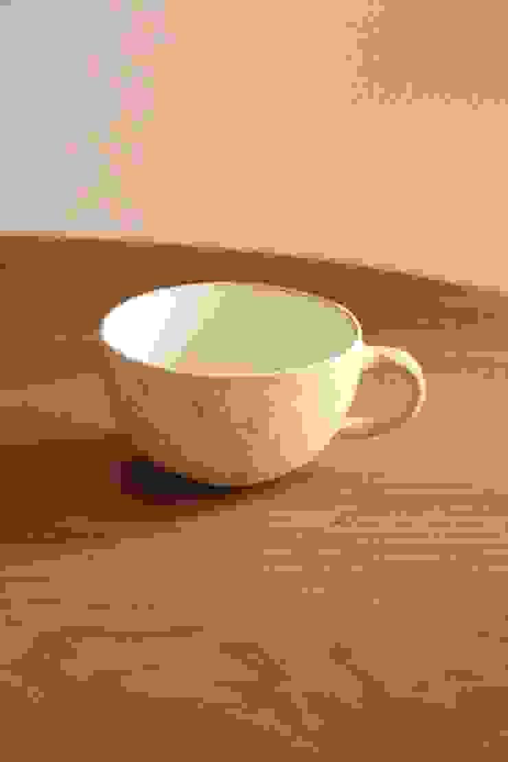 nuanceスープマグ: むくり工房が手掛けた折衷的なです。,オリジナル 陶器