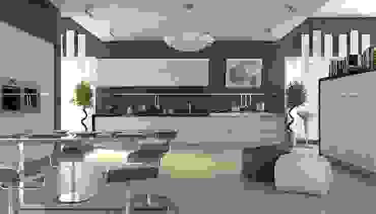 TC interior ห้องครัว White