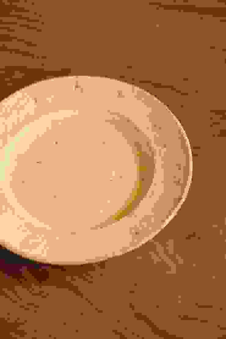 nuanceリムプレートL: むくり工房が手掛けた折衷的なです。,オリジナル 陶器