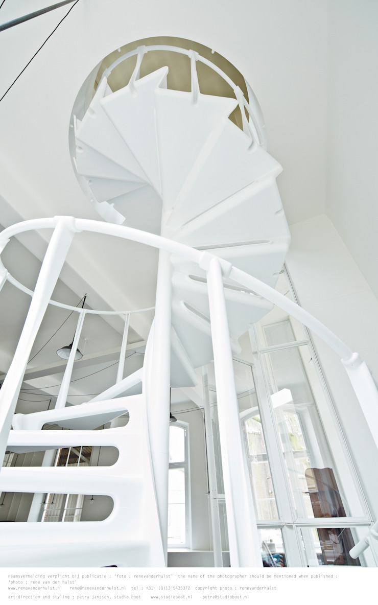 Studio Roderick Vos Industriële studeerkamer van Studio Roderick Vos Industrieel