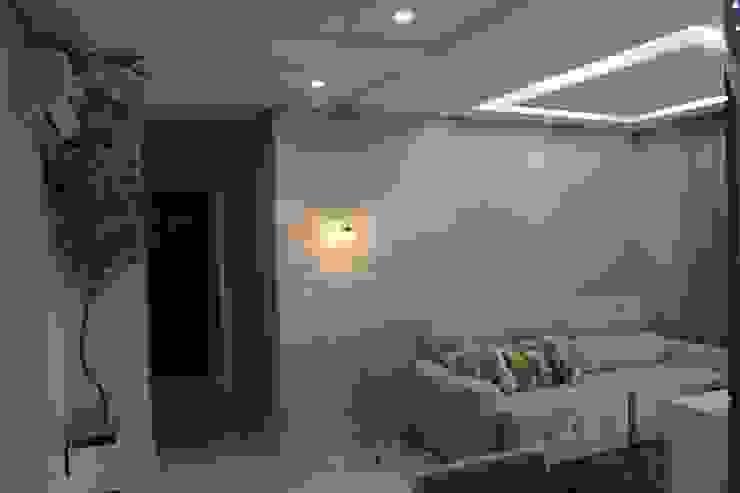 Reforma em apartamento – Águas Claras por Amanda Beatriz Arquitetura e Interiores
