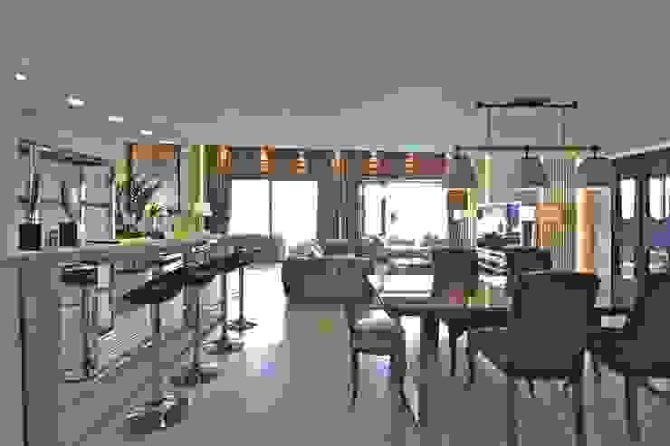K.G Evi Arnavutköy Modern Yemek Odası Kerim Çarmıklı İç Mimarlık Modern