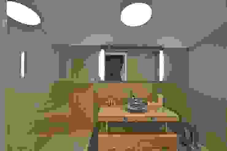 K.G Evi Arnavutköy Minimalist Banyo Kerim Çarmıklı İç Mimarlık Minimalist
