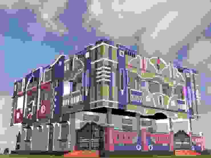 simroz palace Modern houses by MADINA ASSOCIATES Modern
