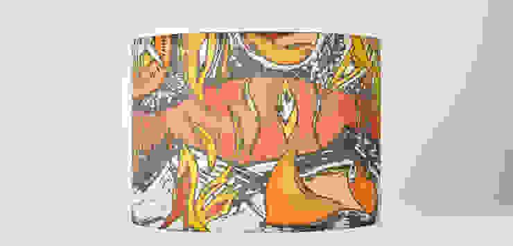 Aplique de seda - Ilustración del desierto - tonos cálidos de Once upon a light Mediterráneo