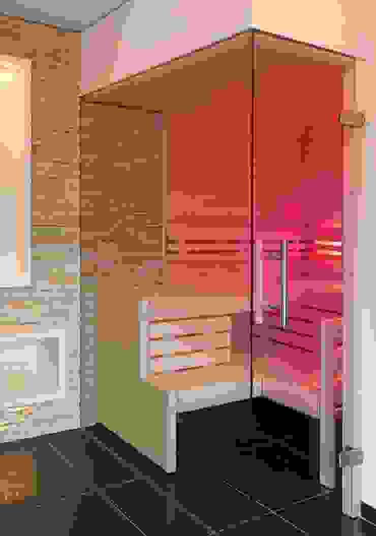 individuell verstellbares Farblicht Erdmann Exklusive Saunen Moderne Badezimmer