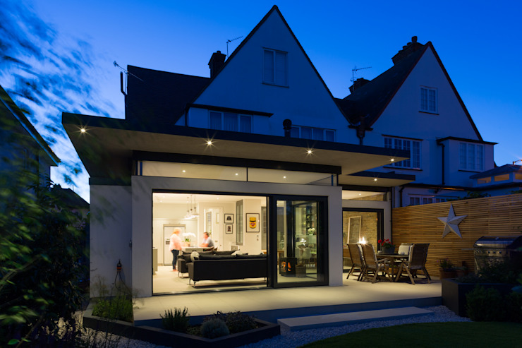 Broadgates Road Modern houses by Granit Architects Modern