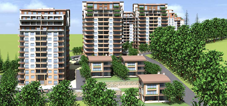 CCT 172 Project in Trabzon Modern Evler CCT INVESTMENTS Modern