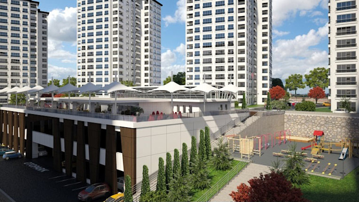 CCT 173 Project in Trabzon Modern Evler CCT INVESTMENTS Modern