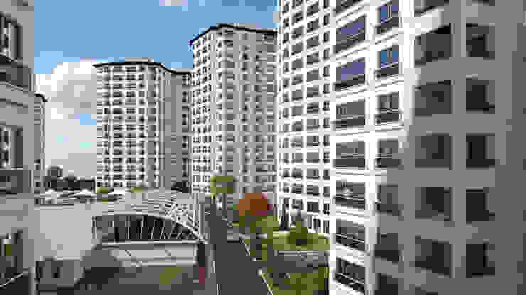 Maisons modernes par CCT INVESTMENTS Moderne