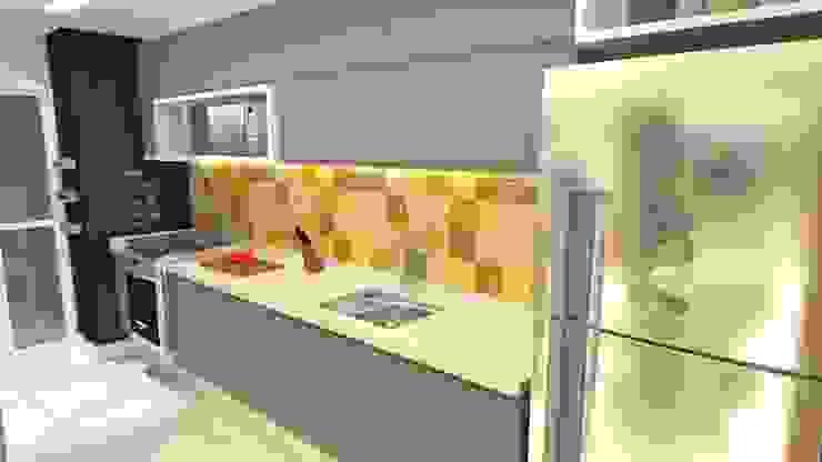 Cozinha Cozinhas modernas por Arquitetura do Brasil Moderno