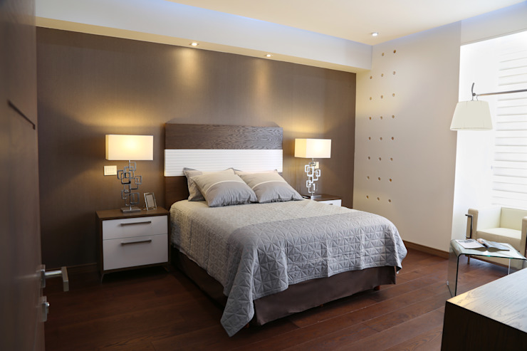 Modern style bedroom by arketipo-taller de arquitectura Modern