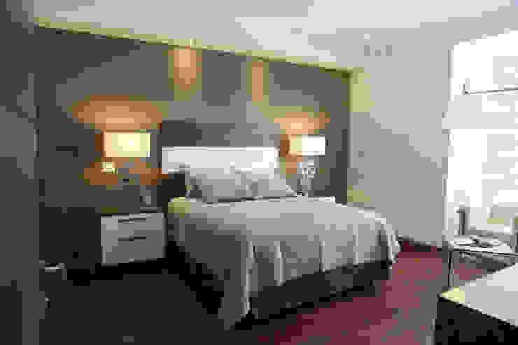 モダンスタイルの寝室 の arketipo-taller de arquitectura モダン