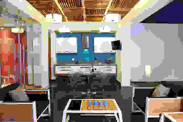 Terrazas de estilo  por arketipo-taller de arquitectura , Moderno