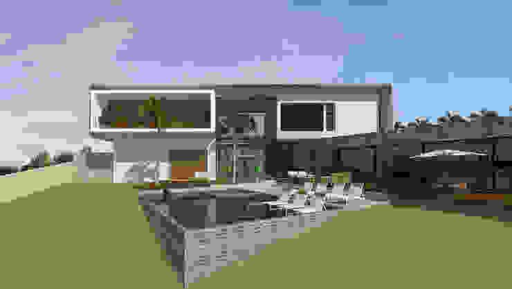 casa pp Casas modernas por grupo pr | arquitetura e design Moderno