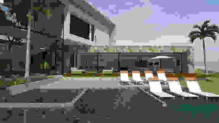 Modern Pool by grupo pr   arquitetura e design Modern