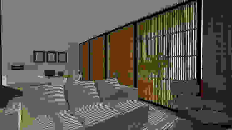 Modern Living Room by grupo pr   arquitetura e design Modern