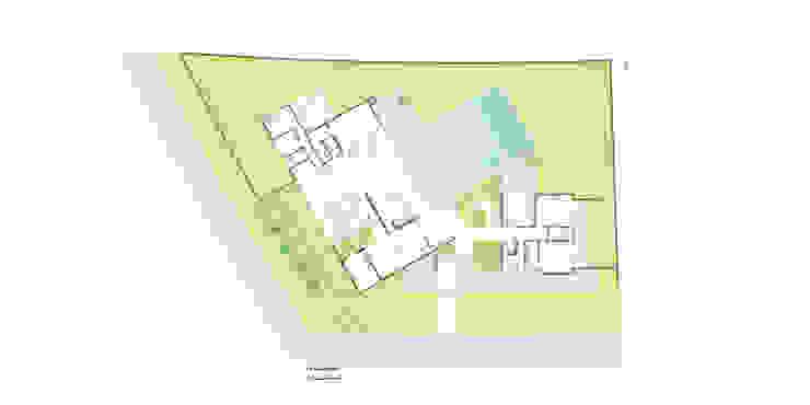 casa pp Paredes e pisos modernos por grupo pr | arquitetura e design Moderno