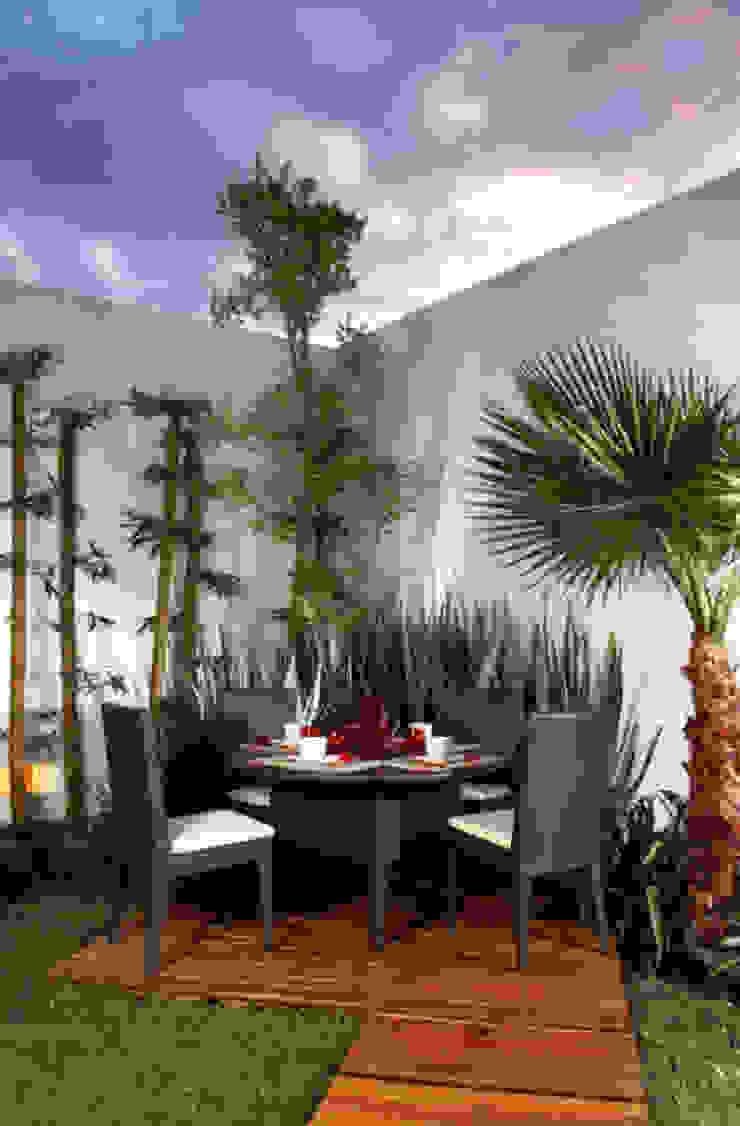 arketipo-taller de arquitectura Balcon, Veranda & Terrasse modernes