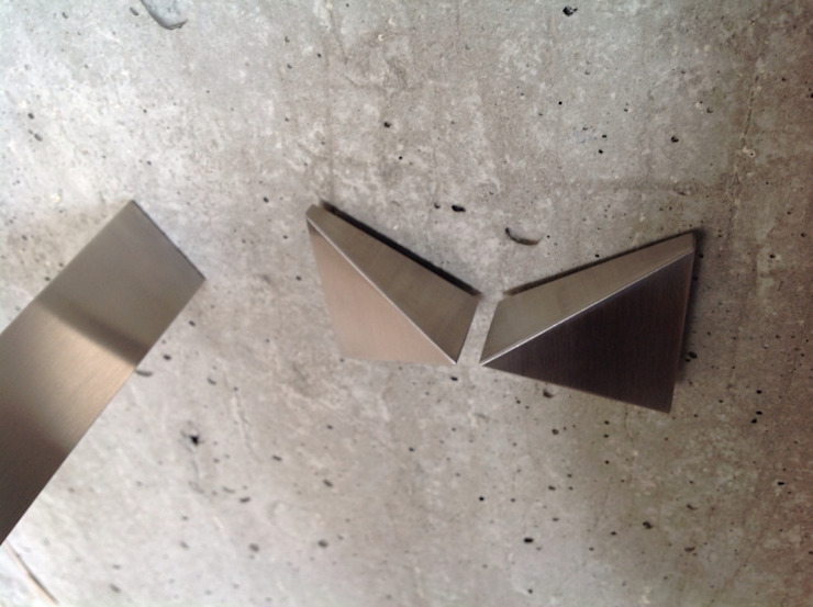 """Torneiras """"DOGMA"""" por Dynamic444 Moderno Ferro/Aço"""