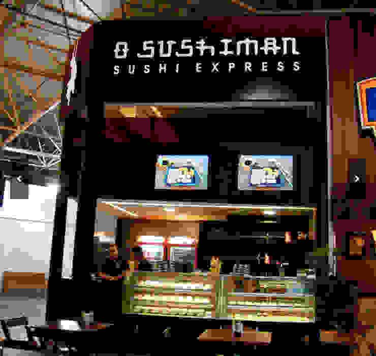 Restaurante O Sushiman - Gilberto Salomão Espaços gastronômicos asiáticos por Arquitetura do Brasil Asiático