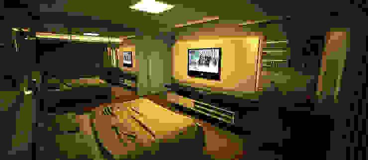 Apartamento Sky - Loteamento Aquarius - Salvador/BA Quartos modernos por Arquitetura do Brasil Moderno