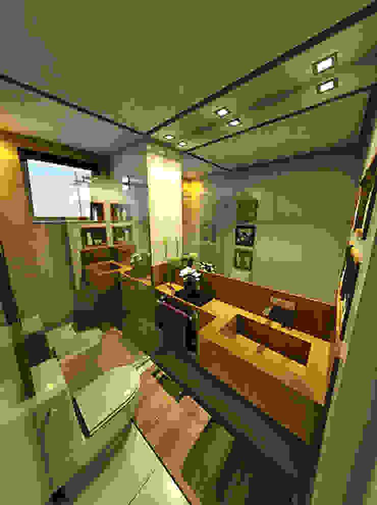 Apartamento Sky - Loteamento Aquarius - Salvador/BA Banheiros modernos por Arquitetura do Brasil Moderno