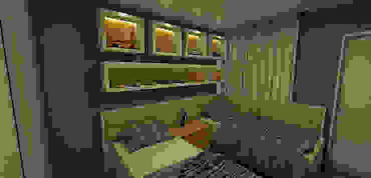 Apartamento Sky - Loteamento Aquarius - Salvador/BA Quarto infantil moderno por Arquitetura do Brasil Moderno